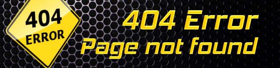 page not found eigene HTML 404 Fehlerseit