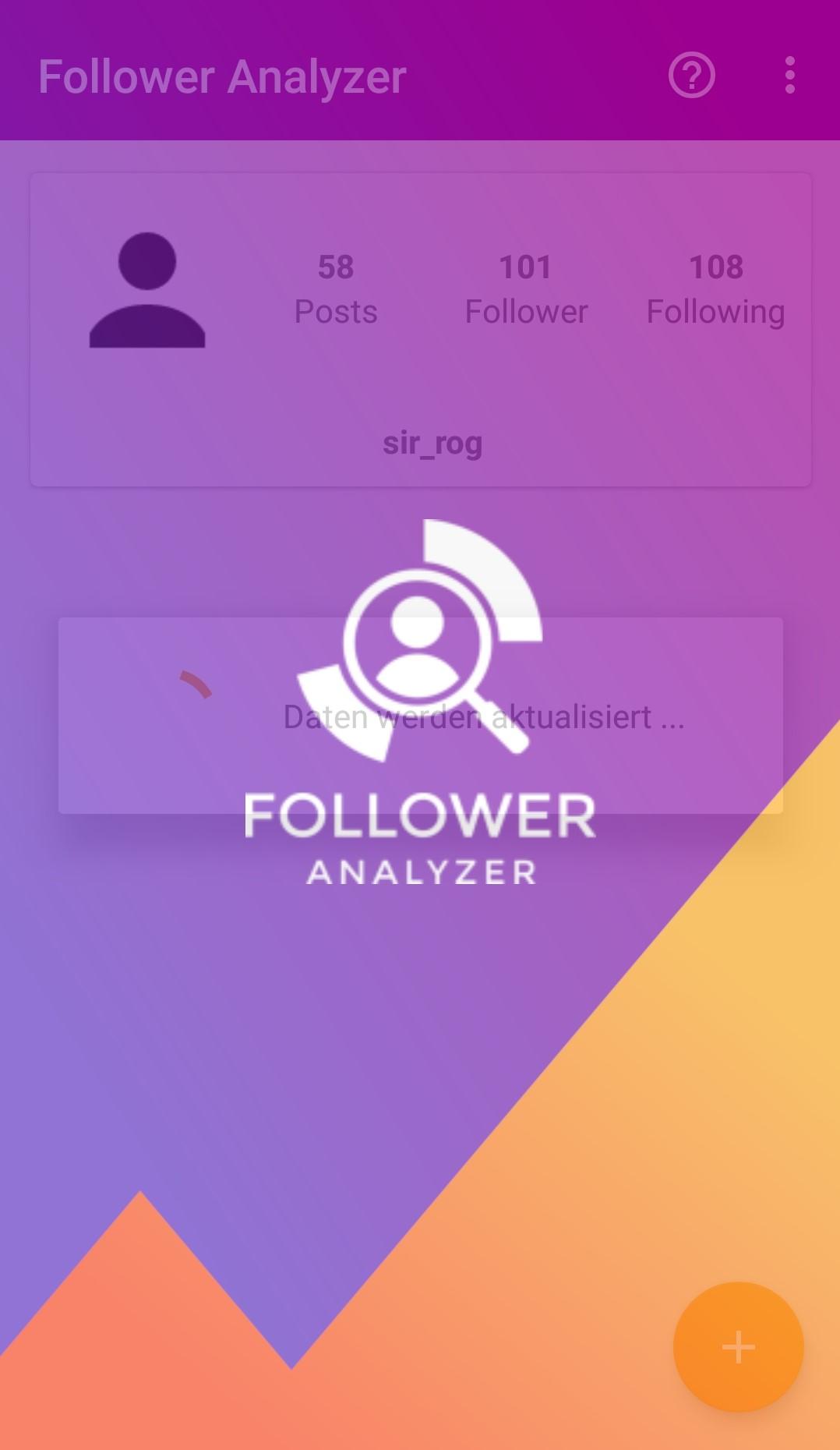 Follower Analyzer for Instagram