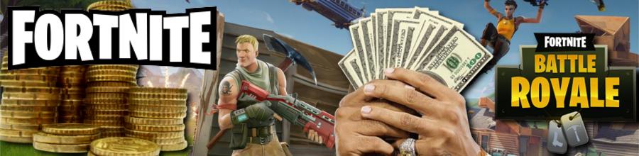 Mit Fortnite Battle Royale Geld verdienen