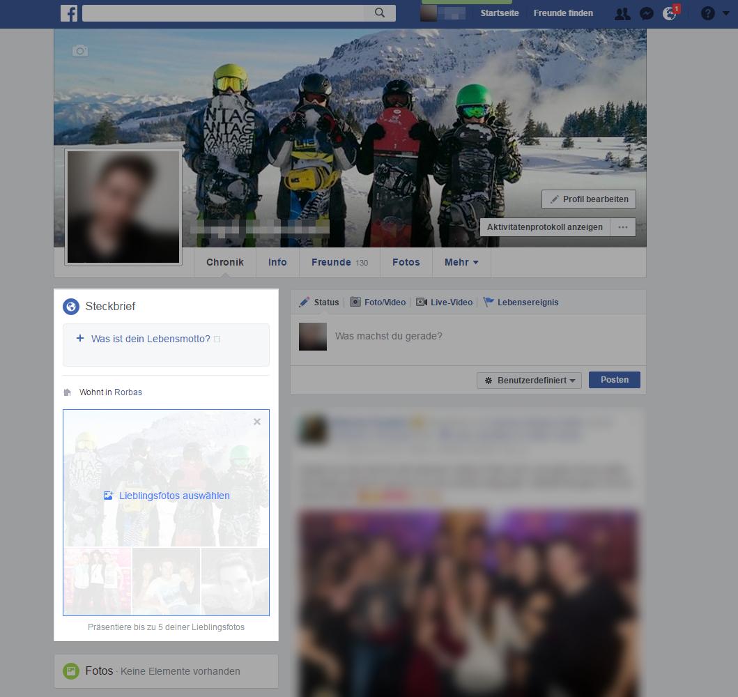 Facebook Lieblingsfotos Löschen