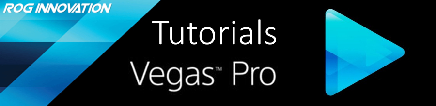 Sony Vegas (Pro) Tutorials