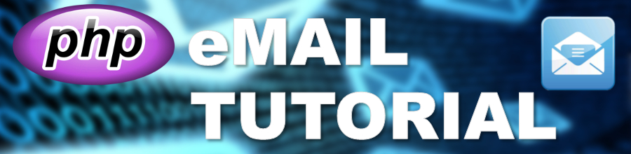 PHP eMail Tutorial